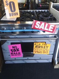 """VIKING THOR 36"""" 6 BURNER SLIDE IN STOVE❌NO CREDIT NEEDED❌👑DISCOUNT ASK 4 ASHLEY👑💲39 DOWN💲🚨OPEN 7 DAY🚨🚚DELIVERY🚚📞323***527***0290✅ITIN/MATRICU for Sale in Hemet,  CA"""