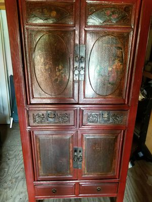 Antique Chinese wedding cabinet for Sale in Baton Rouge, LA