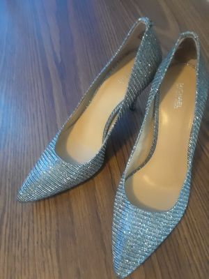 Michael Kors Nathalie Flex High Pump Glitter Size: 10M for Sale in St. Louis, MO