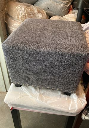 Small grey stool for Sale in Las Vegas, NV