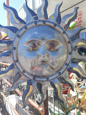 Large metallic Sun face wall art for Sale in Dunedin, FL