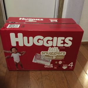 HUGGIES SIZE 4 120 pañales for Sale in Carson, CA