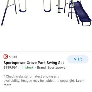 SportsPower Grove Park Swing Set for Sale in Fontana, CA