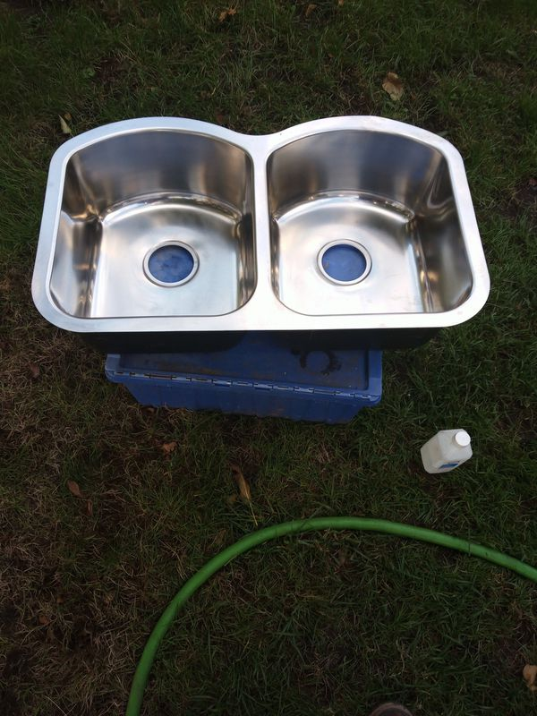 I have 3 stainless steel sinks 100 each