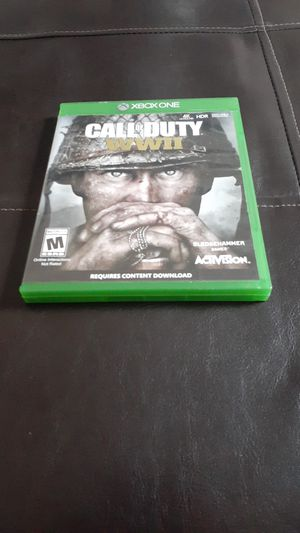 Call of duty ww2 Xbox one for Sale in Wheaton, MD