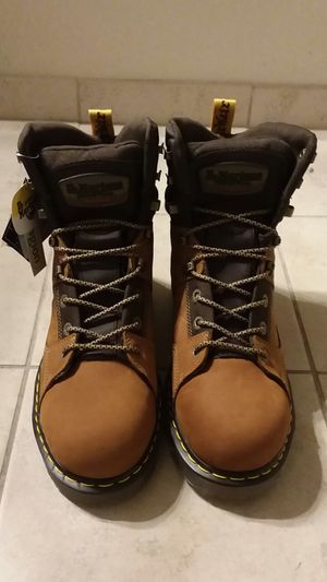 Dr Martens Aluminum Safety Toe Industrial Work Boots Mens Size 13 for Sale in St. Petersburg, FL