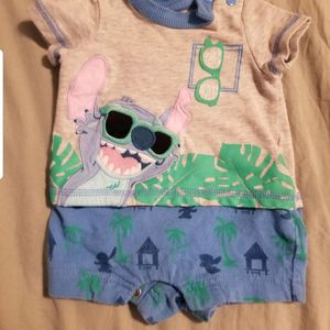 Baby disney clothes 0-6 months for Sale in Las Vegas, NV