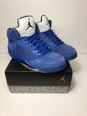 "Air Jordan Retro 5 ""Blue Suede"" for Sale in Cincinnati, OH"