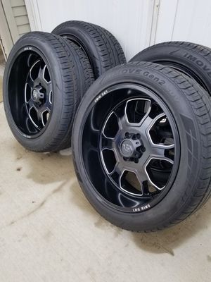 "22"" LRG Wheels & Ironman Tires for Sale in Chicago, IL"
