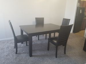 Dining table with for chairs for Sale in Silver Spring, MD