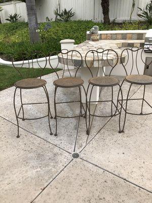 Patio furniture set of four for Sale in La Costa, CA