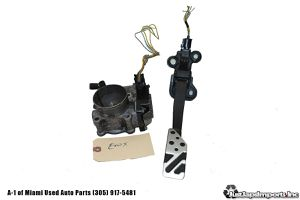08-15 LANCER EVOLUTION X OEM 4B11 THROTTLE BODY GAS PEDAL SET PIGTAIL PLUG EVOX for Sale in Hialeah, FL