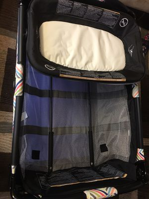 Like brand new Baby crib cargo for Sale in Richmond, VA