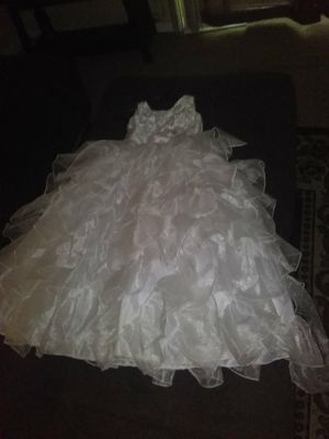 Size 8 baptism or first communion dress for Sale in Portland, OR