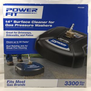 "Power fit 14"" surface cleaner for gas pressure washers for Sale in Las Vegas, NV"