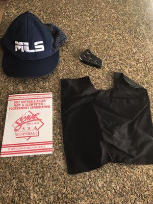Major league softball umpire equipment for Sale in Bloomington, CA