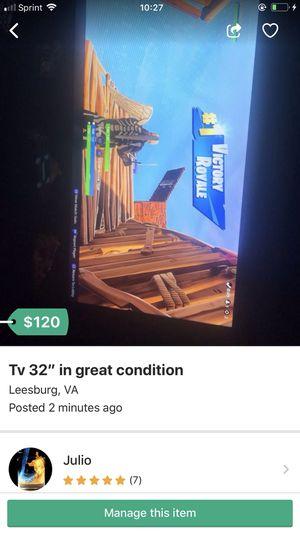 Tv 32 inch for Sale in Leesburg, VA