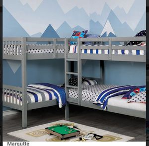 CM BK 904. QUADRUPLE TWIN BUNK BED MATTRESS NOT INCLUDED ORDER TODAY ☎️ 1714586*2564 for Sale in Fullerton, CA