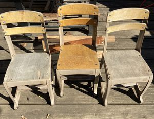 3 Vintage Children's Chairs for Sale in Vancouver, WA