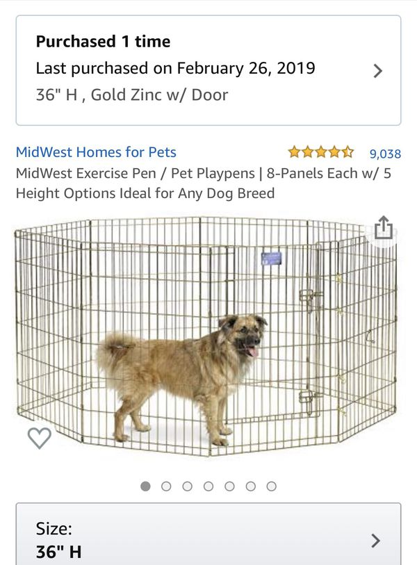 "MidWest 36"" Puppy Play Pen"