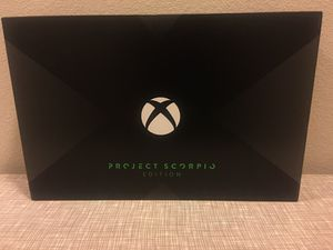Xbox One X Brand New Sealed - Scoripo for Sale in Houston, TX