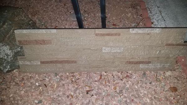 Next Stone Sandy Buff Faux Stone Veneer Siding.