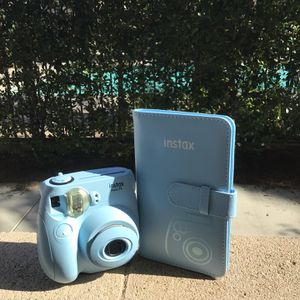 Instax Mini 7S Ice Blue Poloroid for Sale in Jurupa Valley, CA