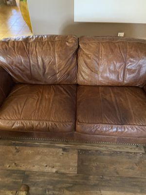 Leather couch for Sale in MESA, AZ