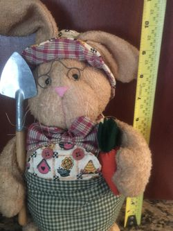 Bunny Easter decor Stuffed Animal for Sale in Wrentham,  MA