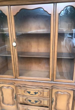 Glass cabinet antique for Sale in Pflugerville, TX