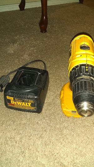 DEWALT drill and charger for Sale in San Antonio, TX
