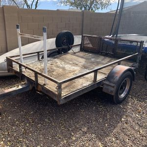 5x8 Utility Trailer $900 OBO for Sale in Peoria, AZ