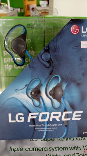 LG force Bluetooth headphones for Sale in Chicago, IL