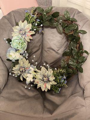 Spring handmade wreath for Sale in Ashburn, VA