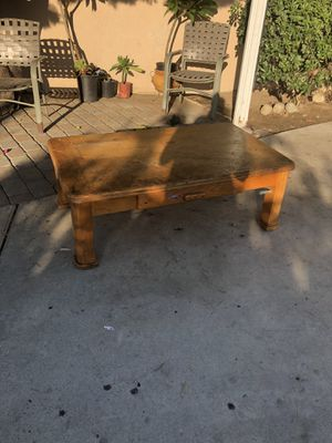 Coffee table with drawer for Sale in Ontario, CA