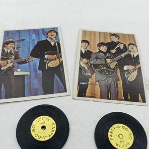 Two Vintage Beatles Cards for Sale in Waterbury, CT
