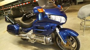 2001 Honda goldwing trading for jeep wrangler sahara Rubicon in good working conditions for Sale in Weston, MA