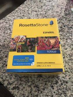 Rosetta Stone (Spanish) for Sale in Murfreesboro,  TN
