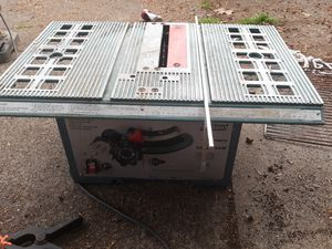 Table saw for Sale in Eugene, OR