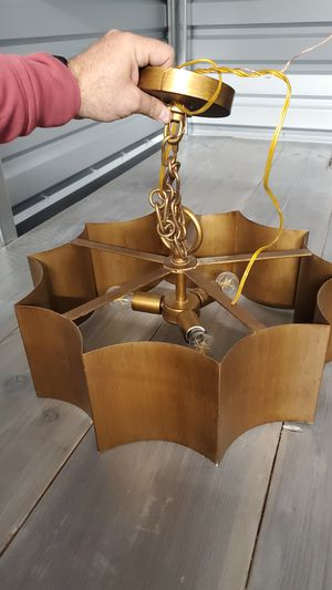 Unique hanging chandelier from world market for Sale in Tempe, AZ