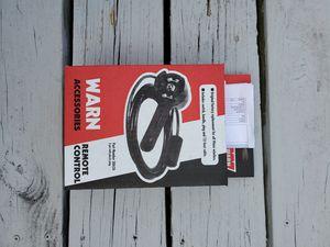 Warn winch remote for Sale in Sanford, NC