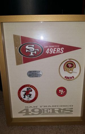49ers shadow box for Sale in ELEVEN MILE, AZ