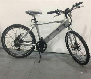 Electric Bike E101 GenZe Silver Sport Outdoor Bicicleta Eléctrica 20 miles per hour for Sale in Miami, FL