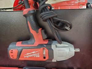 """Milwaukee corded 1/2"""" impact only 70$!!! for Sale in Fort Worth, TX"""