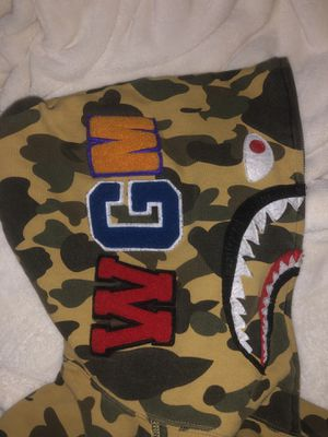 Bape Hoodie First Season Yellow Camo for Sale in Bethesda, MD