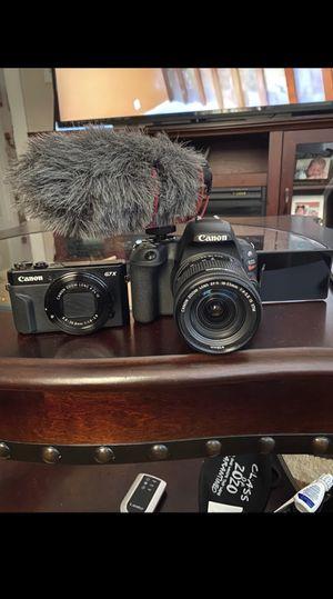 Canon G7x/ Sl2/ Rode Shotgun Mic for Sale in Boston, MA