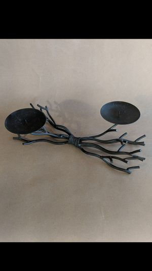 Candle holder - iron/steel for Sale in Rancho Cucamonga, CA