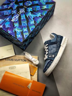 Louis Vuitton Denim Trainers for Sale in Houston, TX