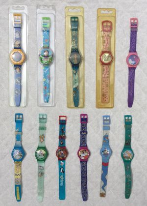 Vintage 90's Disney Watch Lot / Bundle ~ 4 New ~ 7 Used for Sale in Fresno, CA