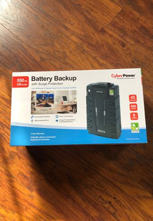 Battery backup with surge protection for Sale in Fall River, MA
